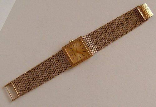 antiques atlas vintage 9ct gold bueche girod unisex wristwatch bueche girod