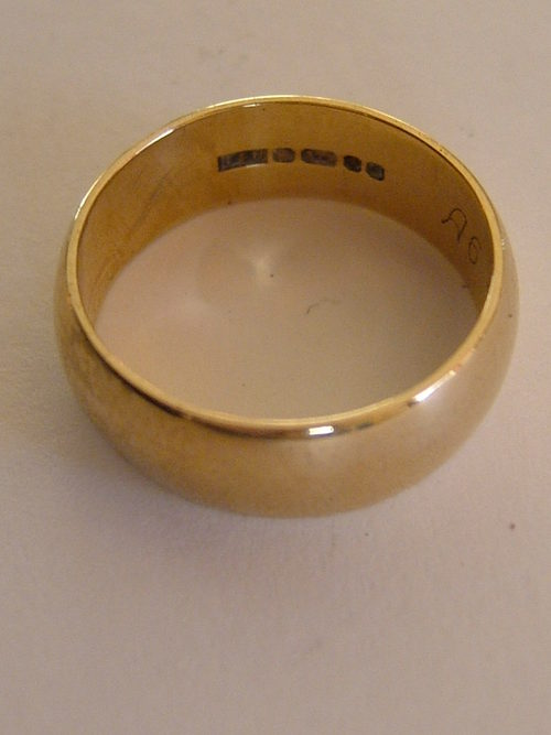 Hallmarks On Antique Gold Rings