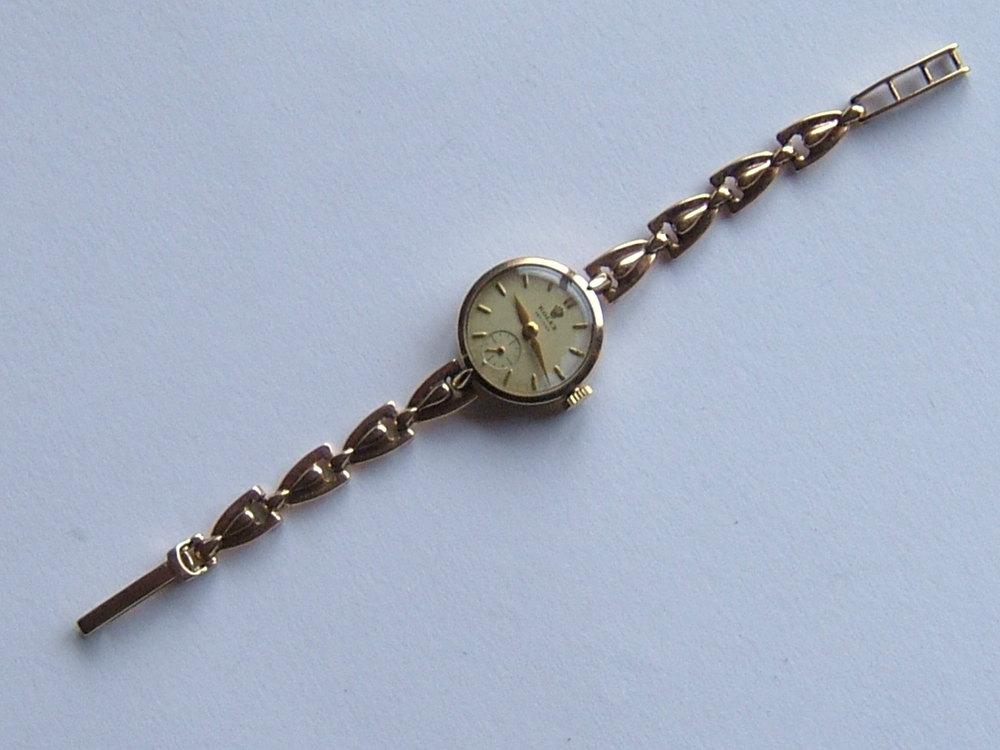 Antiques Atlas - Vintage ROLEX Precision Lady's Wristwatch ...