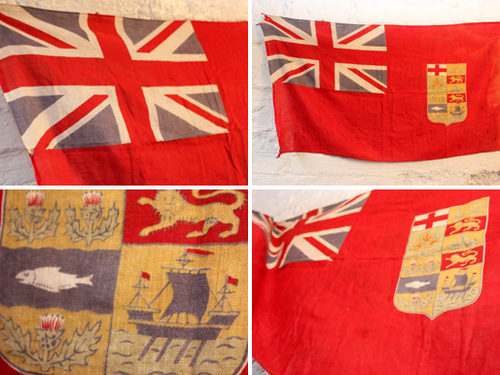 Canadian Flags Flags Antique Canadian