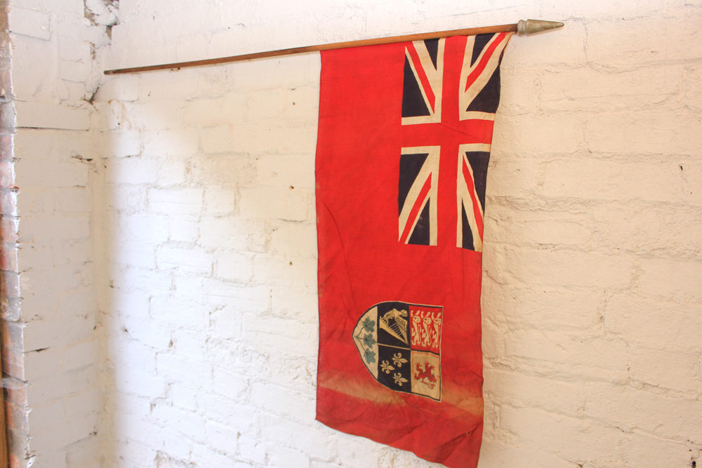 Antiques Atlas Early 20thc Canadian Red Ensign Flag