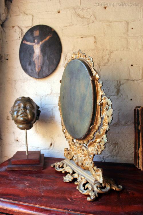 Antiques Atlas Gilt Painted Cast Iron Swing Dressing