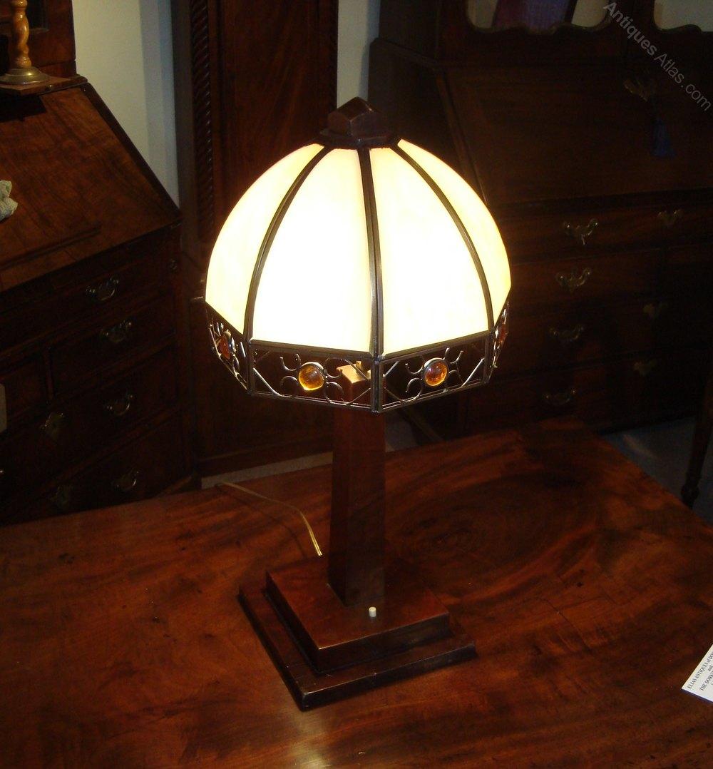 Antiques Atlas Pretty Art Deco Lamp