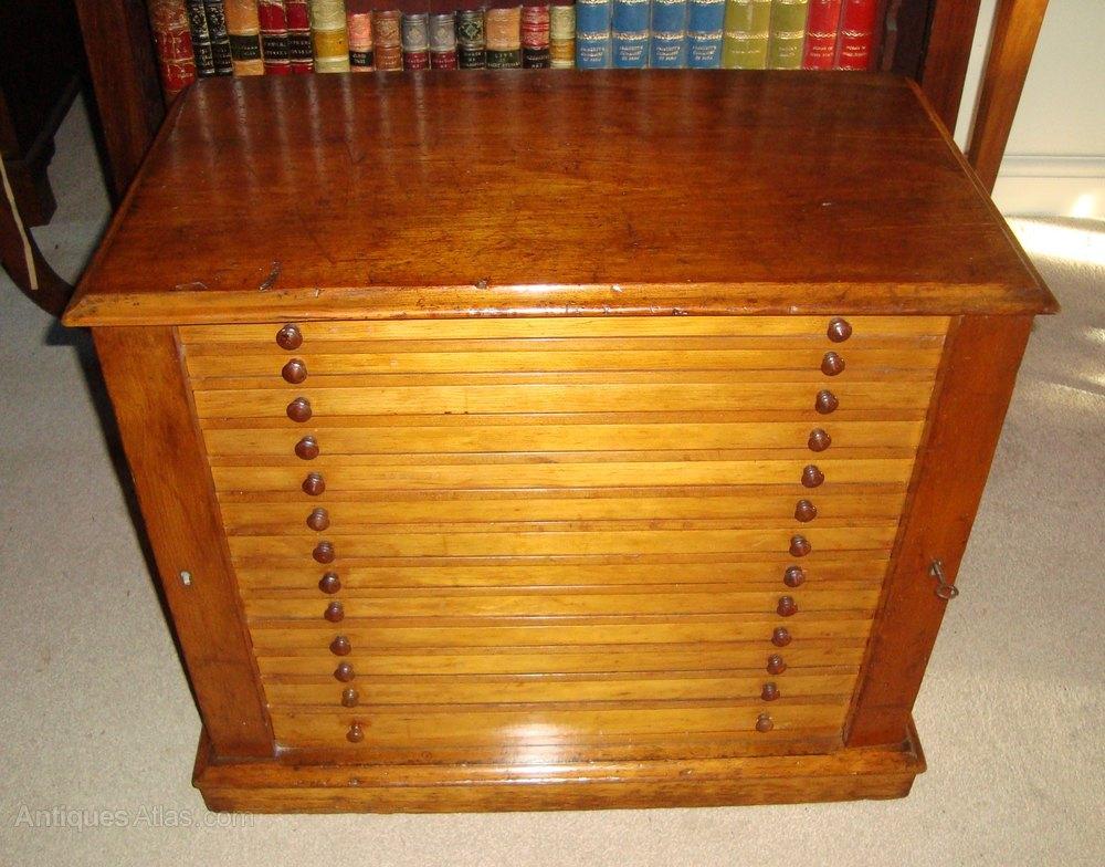 Victorian Pine Printers Collectors Cabinet Antiques Atlas