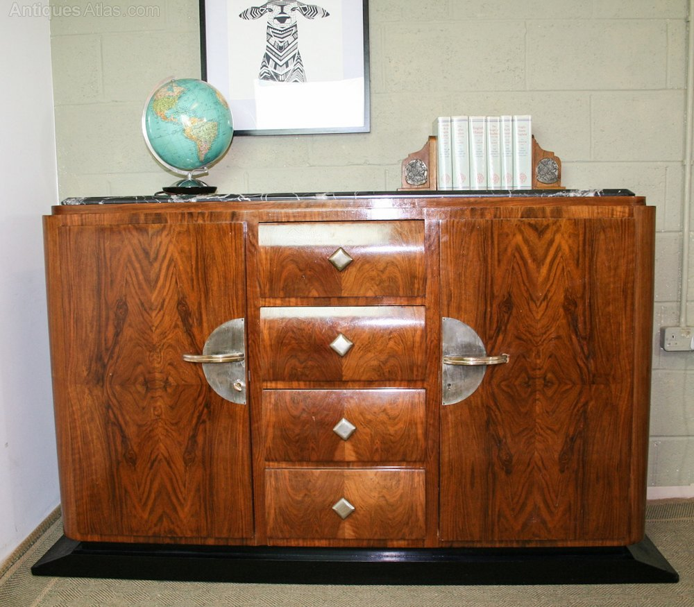 French Art Deco Sideboard Antiques Atlas