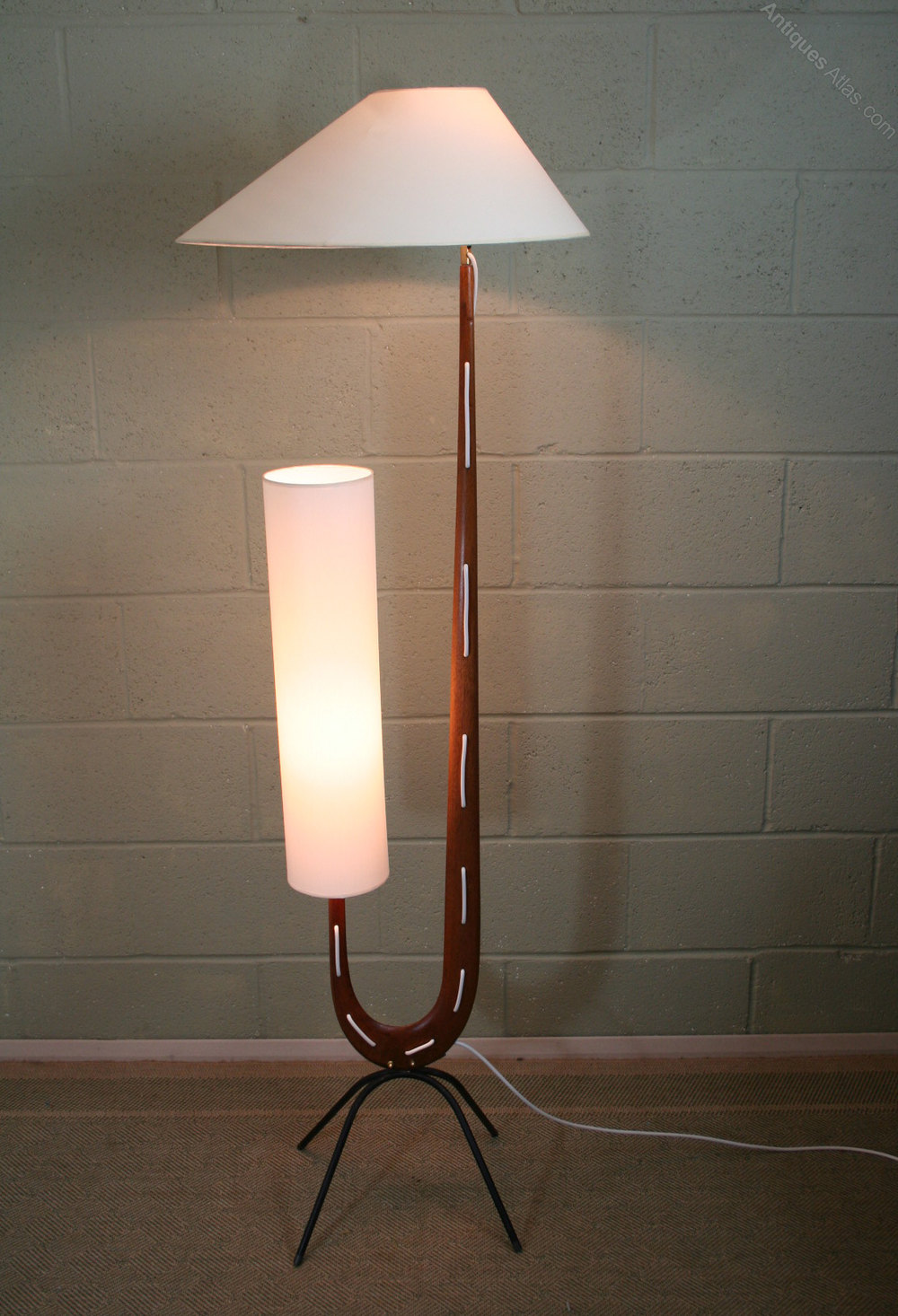 Antiques Atlas Iconic Mid Century Floor Lamp By Rispal