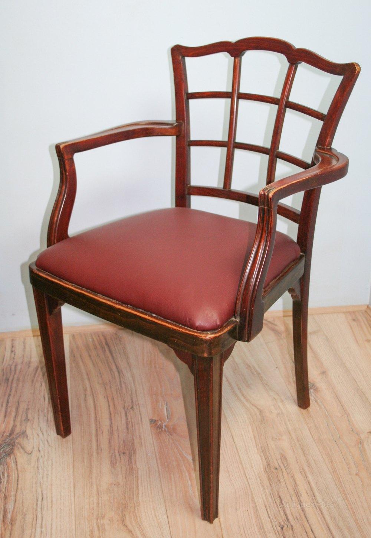v rare set 5 thonet art deco dining chairs antiques atlas. Black Bedroom Furniture Sets. Home Design Ideas