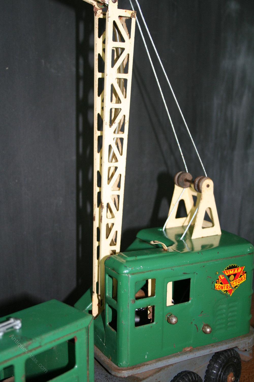 Antiques Atlas Vintage 50s Toy Crane Customised Lamp
