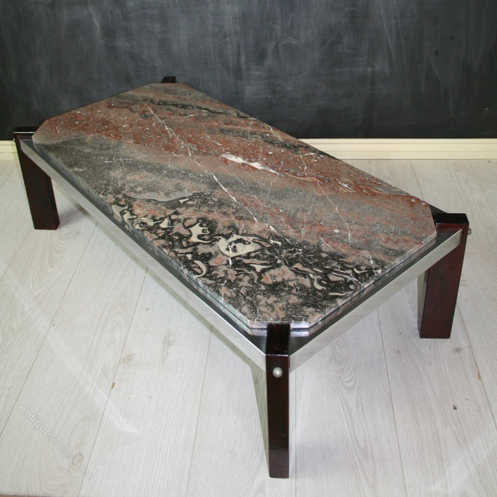 Antiques Atlas Vintage Italian Marble Top Coffee Table