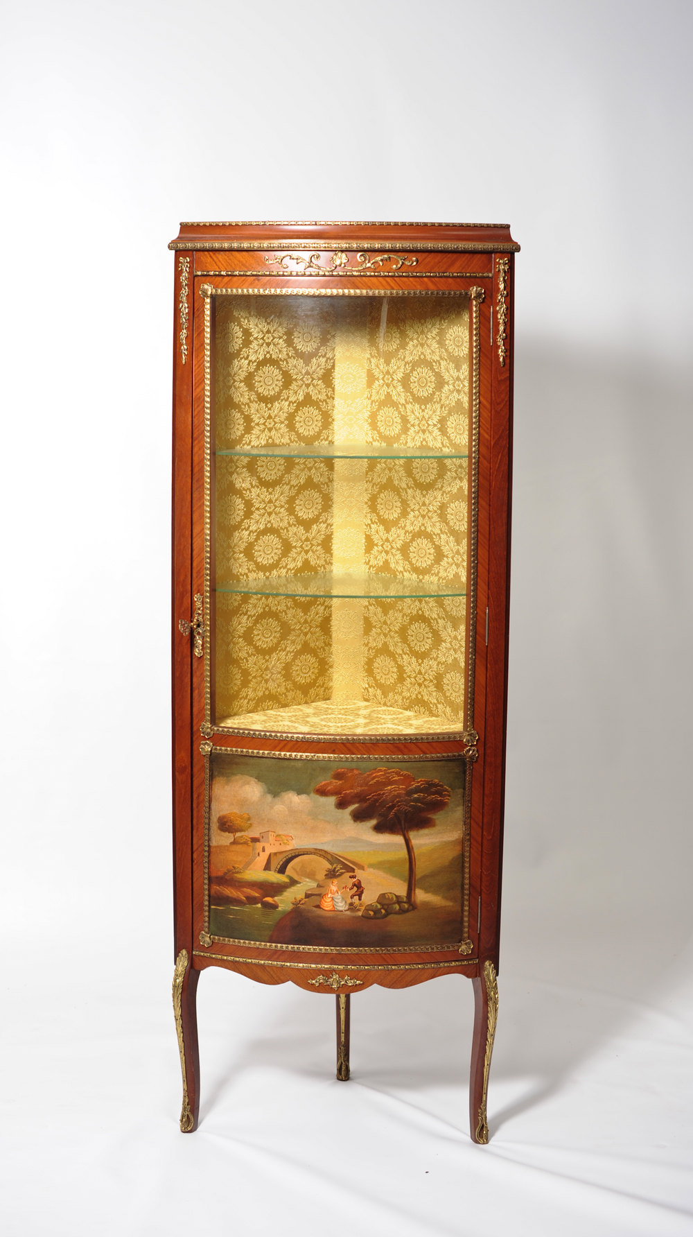 Antiques atlas display cabinet for Antique display cabinet