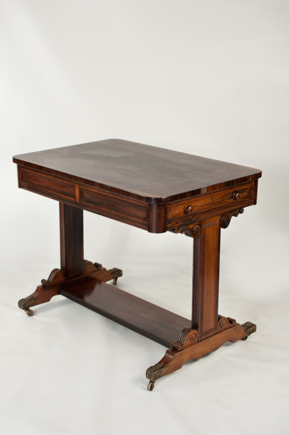 Victorian rosewood sofa table antiques atlas for Sofa table antique