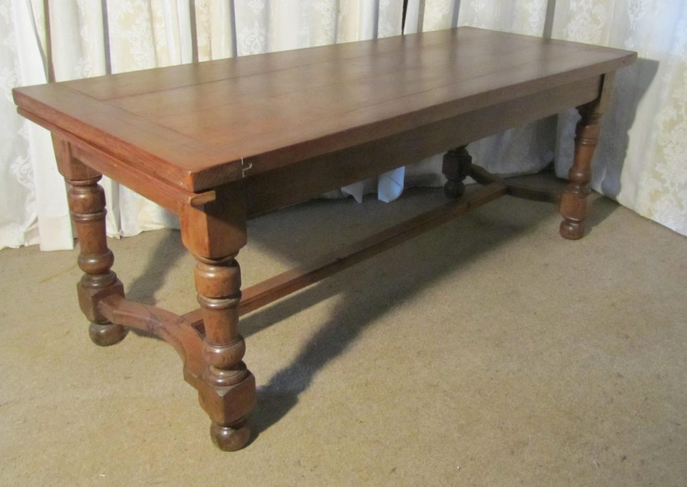 19th century french oak dining table antiques atlas for Table th link