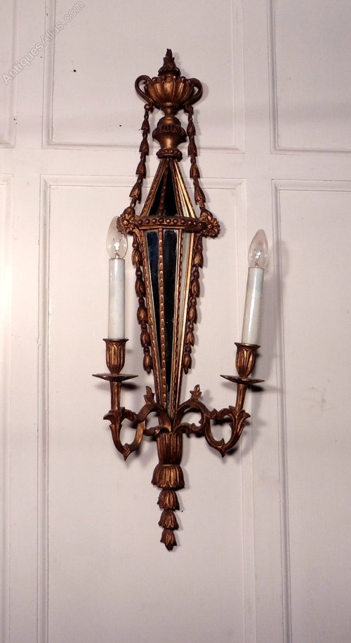 Antique Wood Wall Sconces : Antiques Atlas - 19th Century Gilt Wood Giroles, Wall Sconces