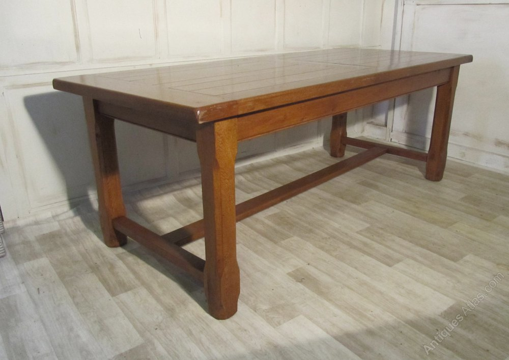 A Large French Oak Dining Table Antiques Atlas