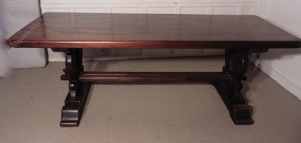 A large french refectory table table monast re antiques atlas - Table monastere relookee ...
