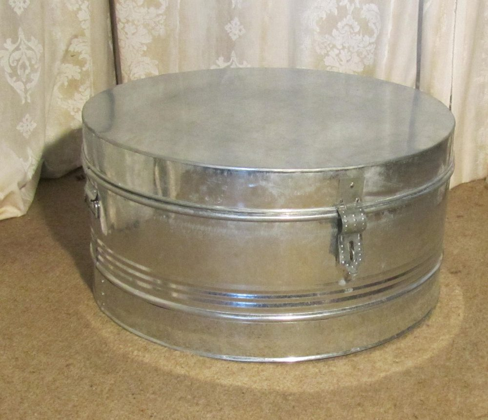 Antiques atlas a large steel drum case quirky coffee table for Coffee tables quirky