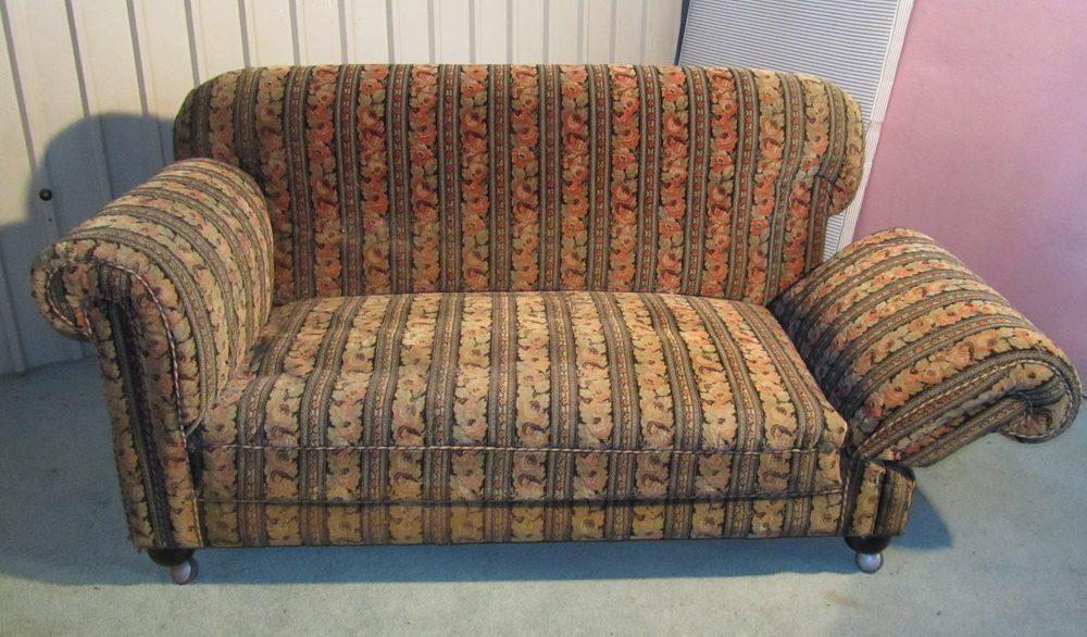 A Late Victorian Good Quality Drop End Sofa Antiques Atlas