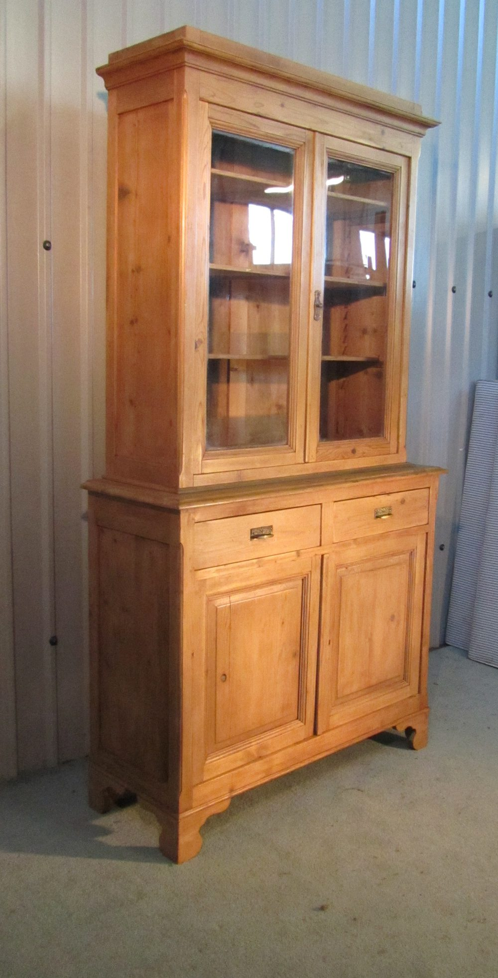 A Tall French Pine Bookcase - Antiques Atlas