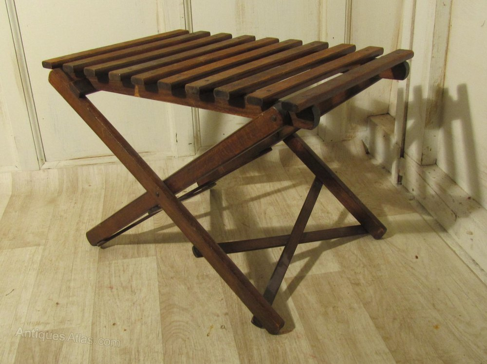 A Victorian Folding Luggage Rack Antiques Atlas