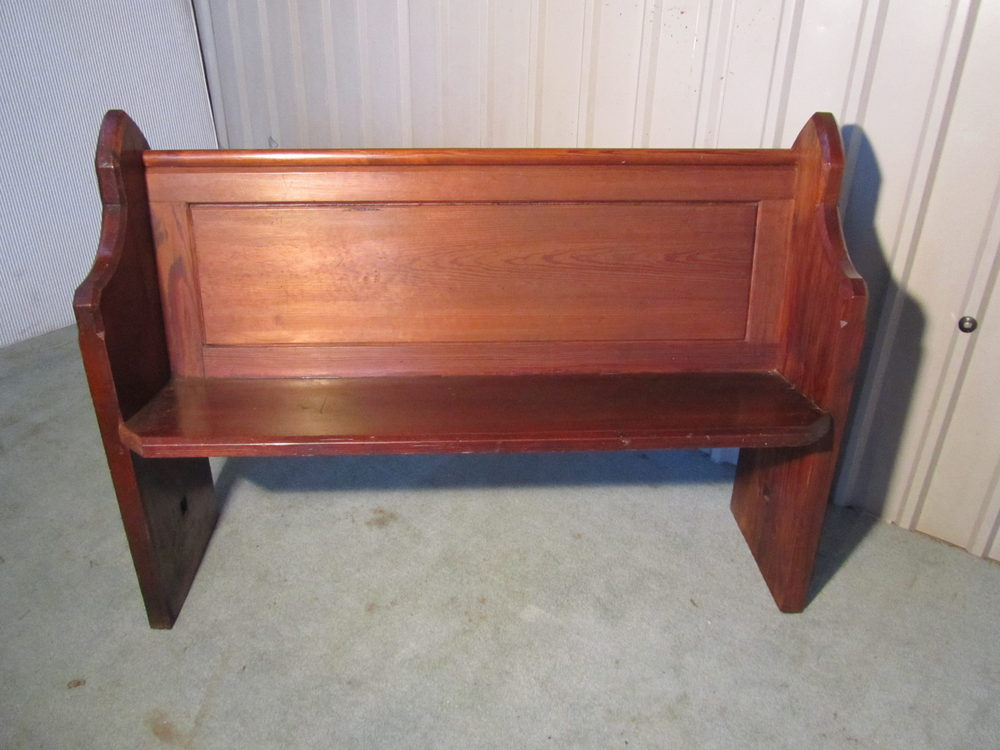 Antiques Atlas A Victorian Pine Kitchen Bench Or Church Pew