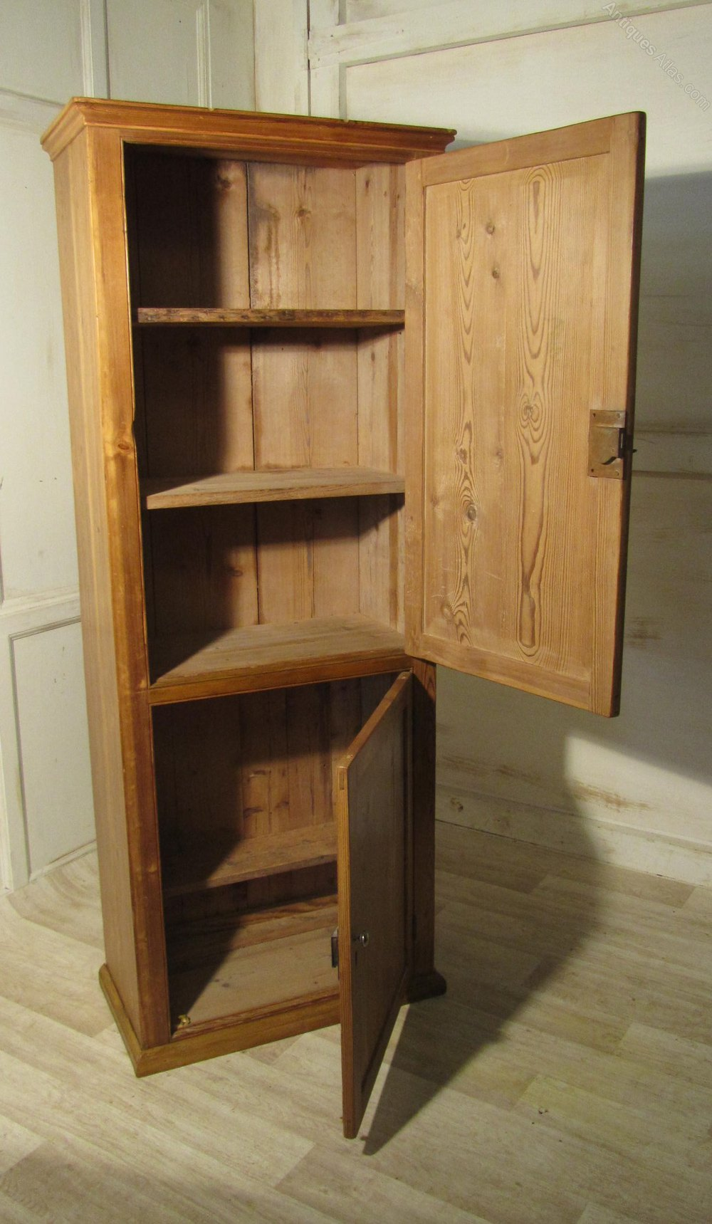 Antique Hall Pine Cupboard Book Cupboard Antiques Atlas