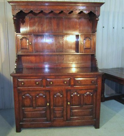 Country Oak Welsh Dresser - Antiques Atlas