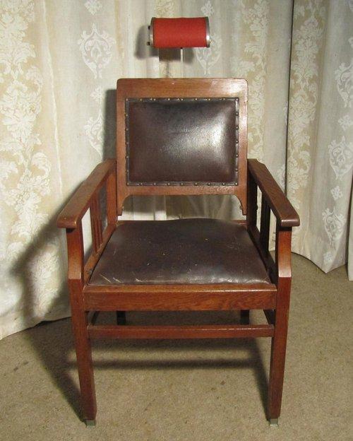 - Dutch 19th Century Dentists' Chair, Barber's Chair - Antiques Atlas