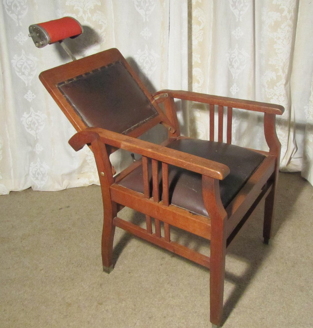 ... Antique Armchairs, Occasional Chairs Dutch 19th Century Dentists Chair  Tattoo or Barbers Chair ... - Dutch 19th Century Dentists' Chair, Barber's Chair - Antiques Atlas