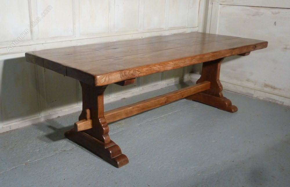 French Oak Refectory Table ...