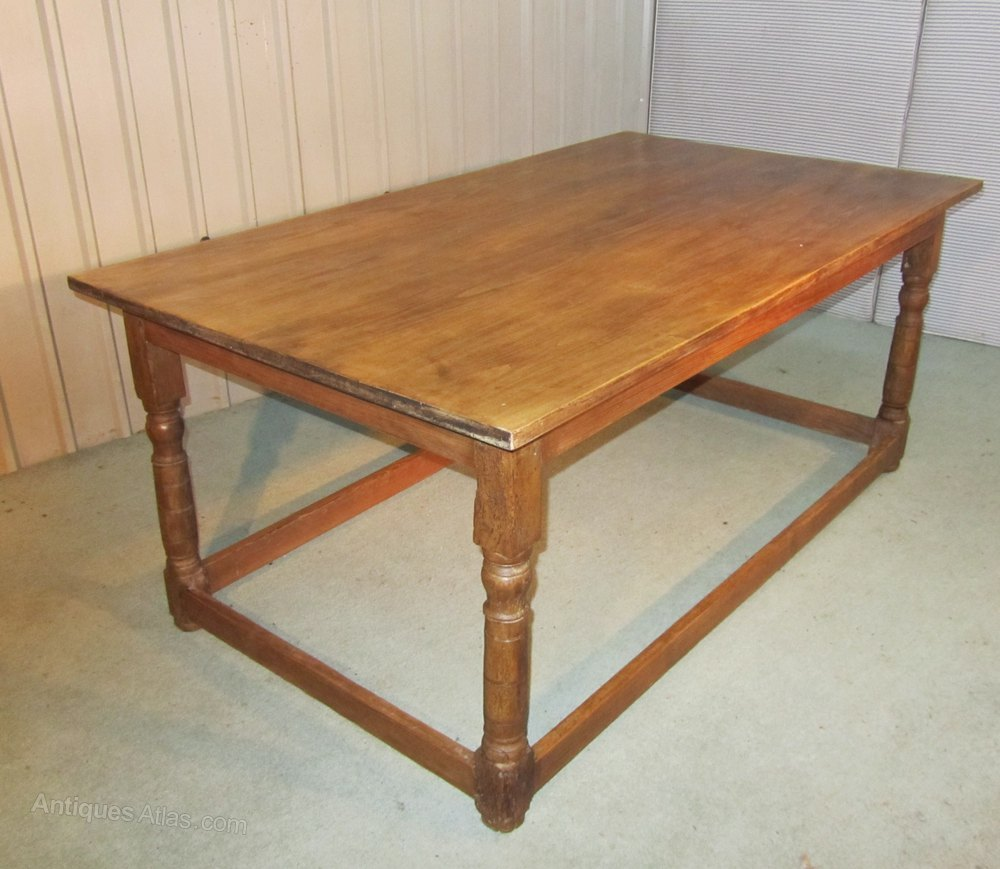 French Walnut Farmhouse Kitchen Table Antiques Atlas