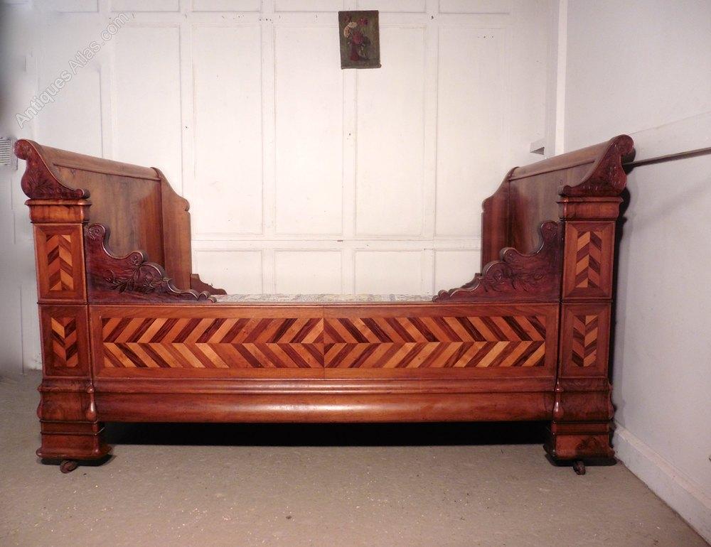 Walnut Sleigh Bed Uk