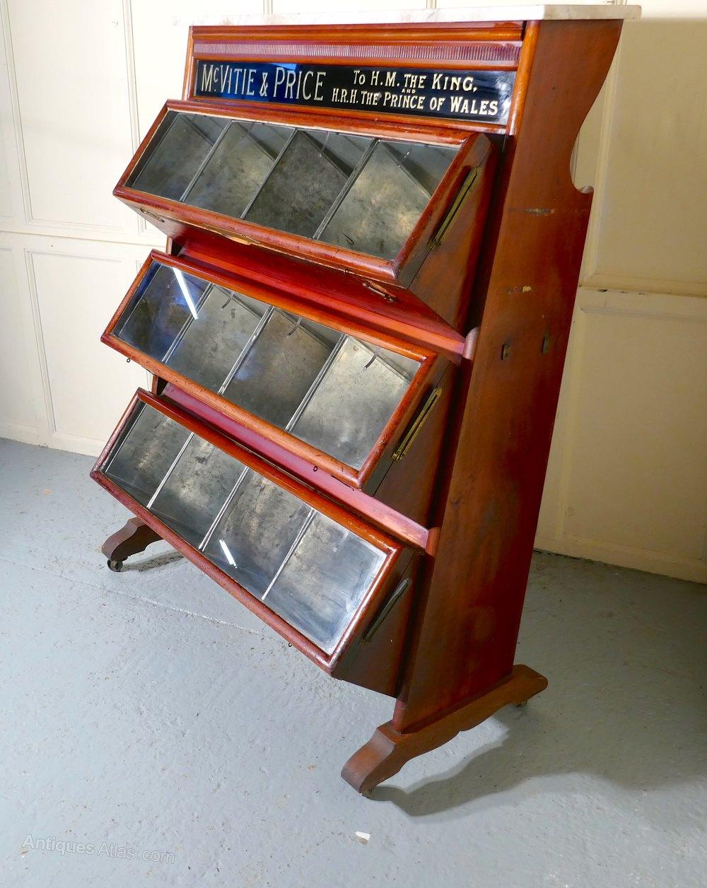 Mcvitie Amp Price Shop Biscuit Tin Display Cabinet