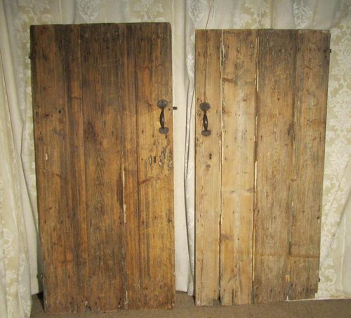 Antiques Atlas Pair Of Very Rustic 18th Century Pine