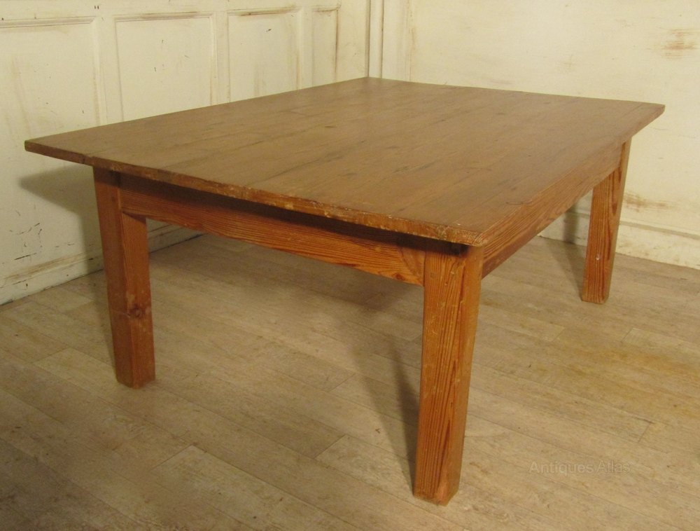 Pine Farmhouse Coffee Table Antiques Atlas