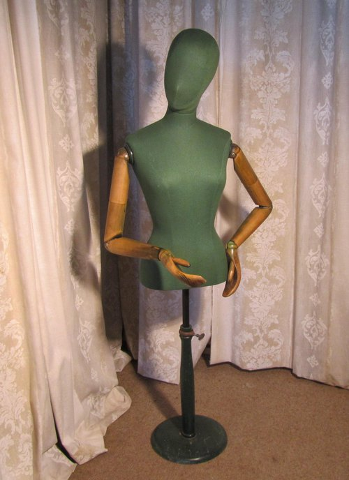 antiques atlas quirky green vintage mannequin by stockman. Black Bedroom Furniture Sets. Home Design Ideas