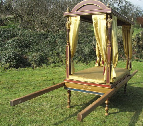 Antiques Atlas Rare Sedan Chair From The 1963 Movie Cleopatra