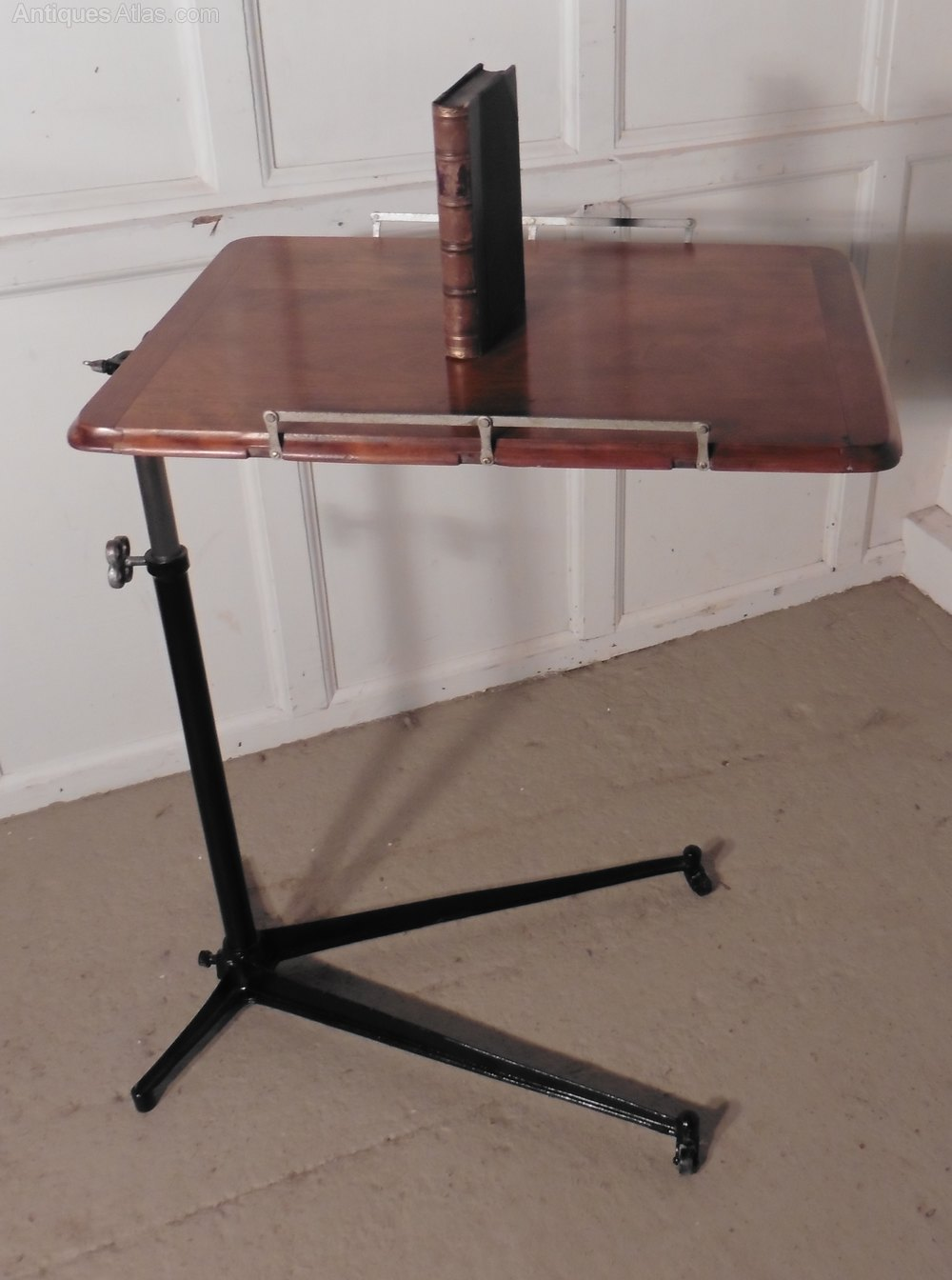 Reading Stand Over Bed Table Fireside Table Antiques Atlas
