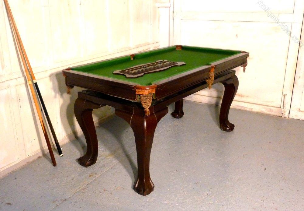 Riley Mahogany Dining Billiard And Snooker Table  : RileyMahoganyDiningBilliardas284a3351z 3 from www.antiques-atlas.com size 1000 x 693 jpeg 103kB