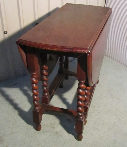 Solid Oak Victorian Gate Leg Table Antiques Atlas - Antique gateleg tables