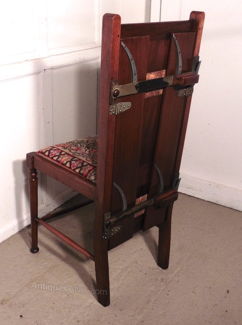 Victorian Mahogany Bedroom Chair And Trouser Press Antiques Atlas