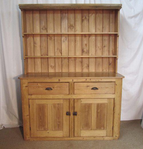 Victorian Pine Farmhouse Kitchen Dresser Antiques Atlas