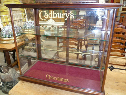 Antique Cadburys Shop Display Cabinet ... - ANTIQUE CADBURYS SHOP DISPLAY CABINET - Antiques Atlas