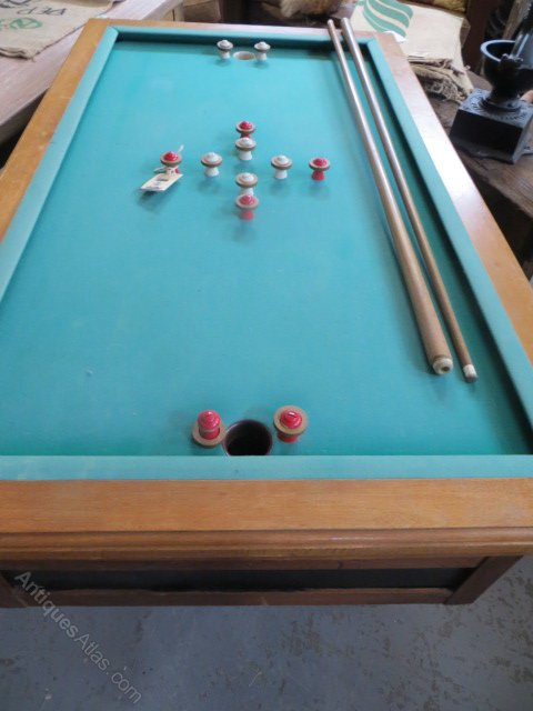 Antiques Atlas Antique French Bar Billiard Table