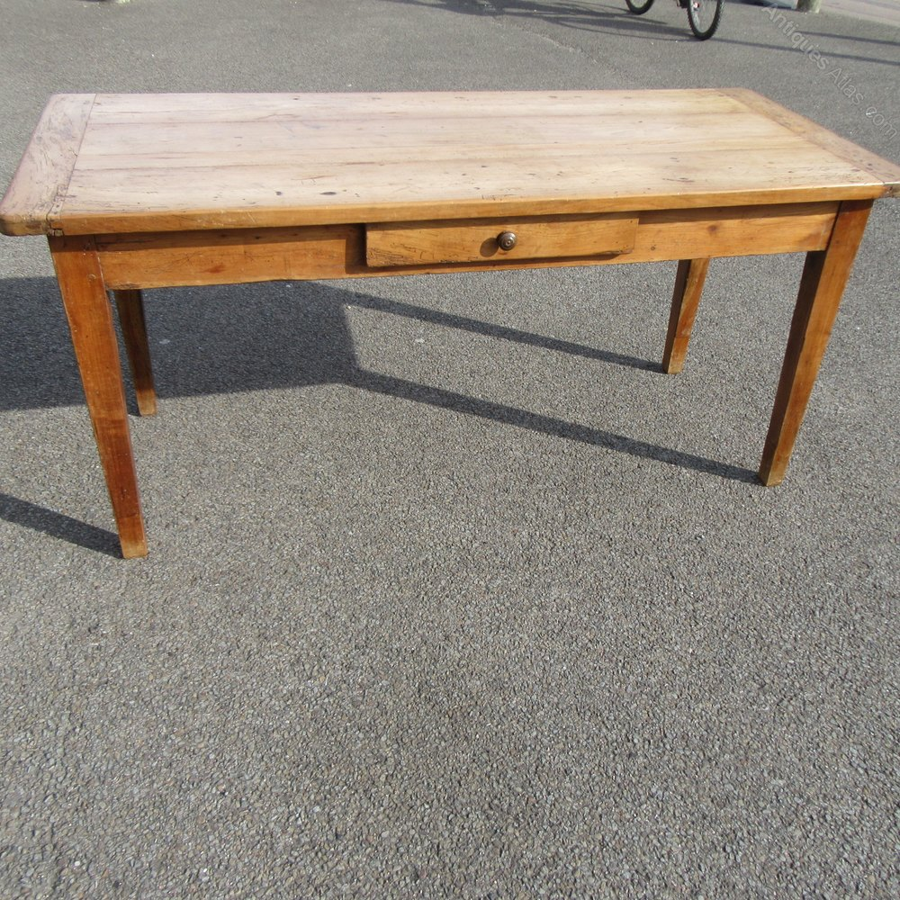 Antique french country fruitwood dining table antiques atlas - Antique french dining tables ...