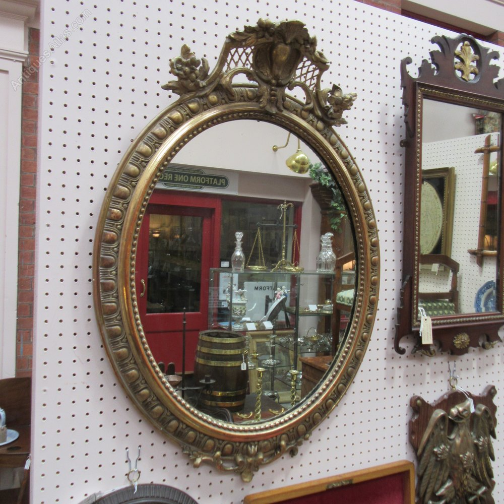 Antiques atlas antique french wall mirror for Antique french mirror