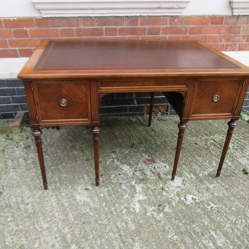 Antique French Walnut Writing Desk Antiques Atlas