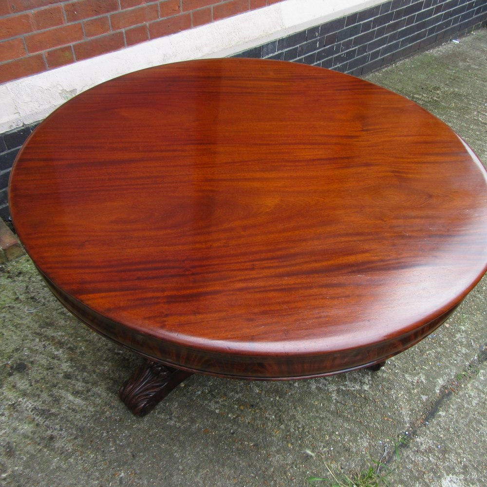 Antique Mahogany Dining Table Antiques Atlas