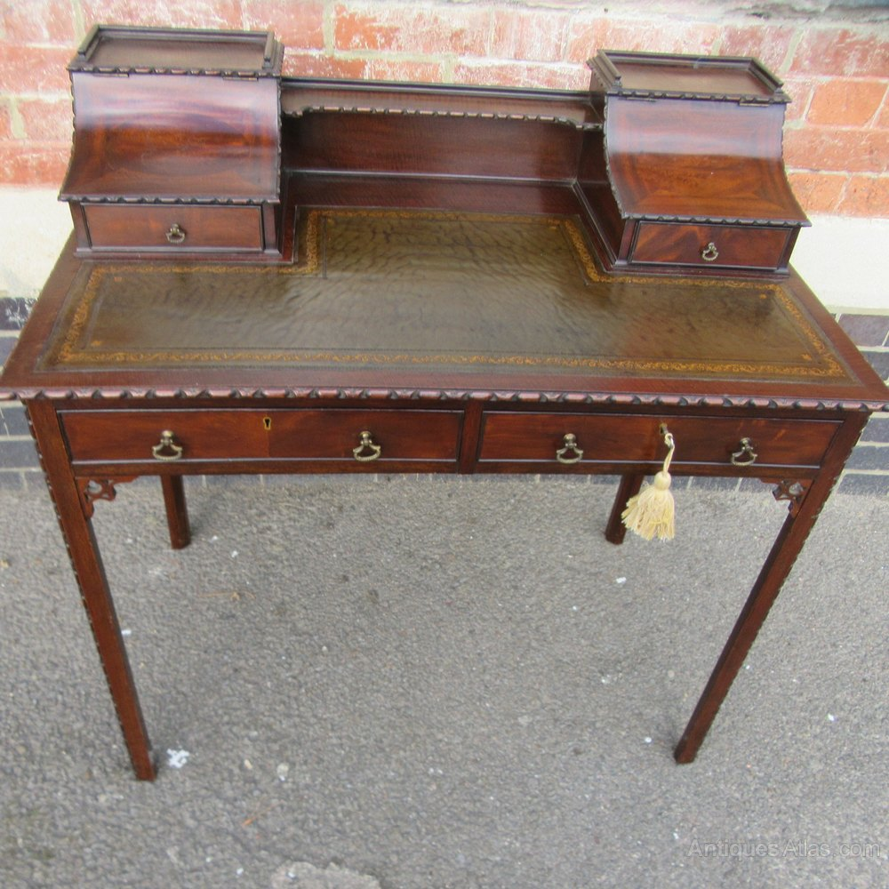 Mahogany Writing Desk ~ Antique mahogany ladies writing desk antiques atlas