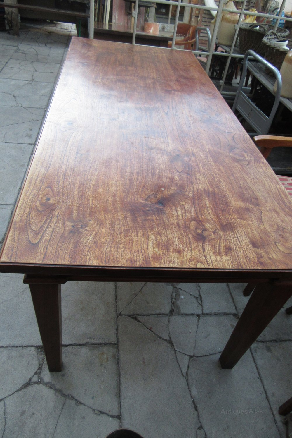 Antique Oak Table ~ Antique oak dining table antiques atlas