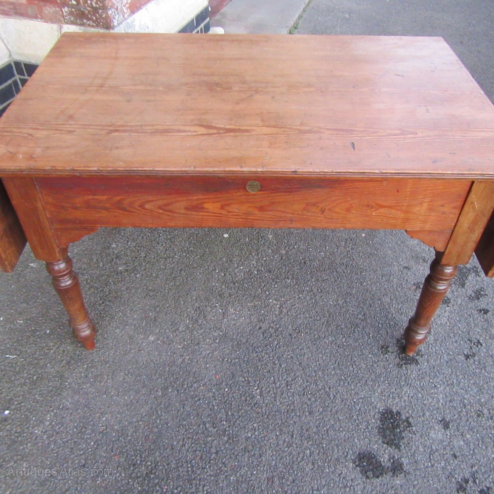 Antique victorian pine sofa table antiques atlas for Sofa table victorian